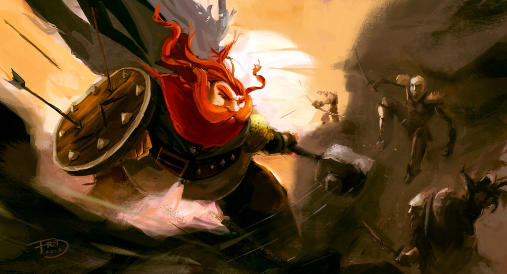 dwarf_vs_goblins_by_fredrubim-d5go5id.jp