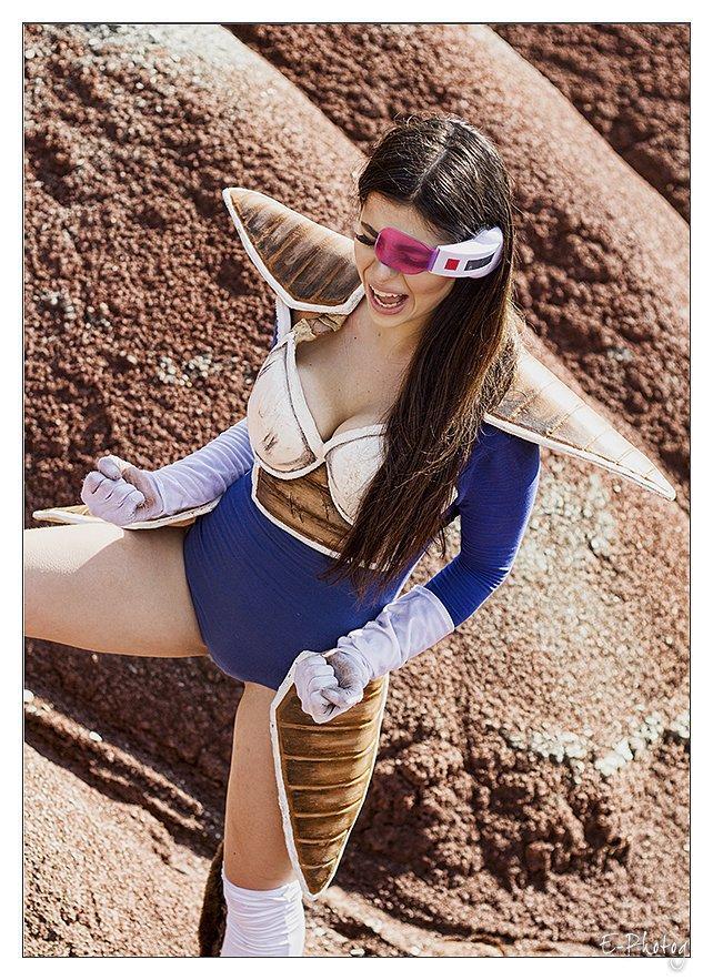 Vegeta – Dragon Ball Z cosplay by Azzyland