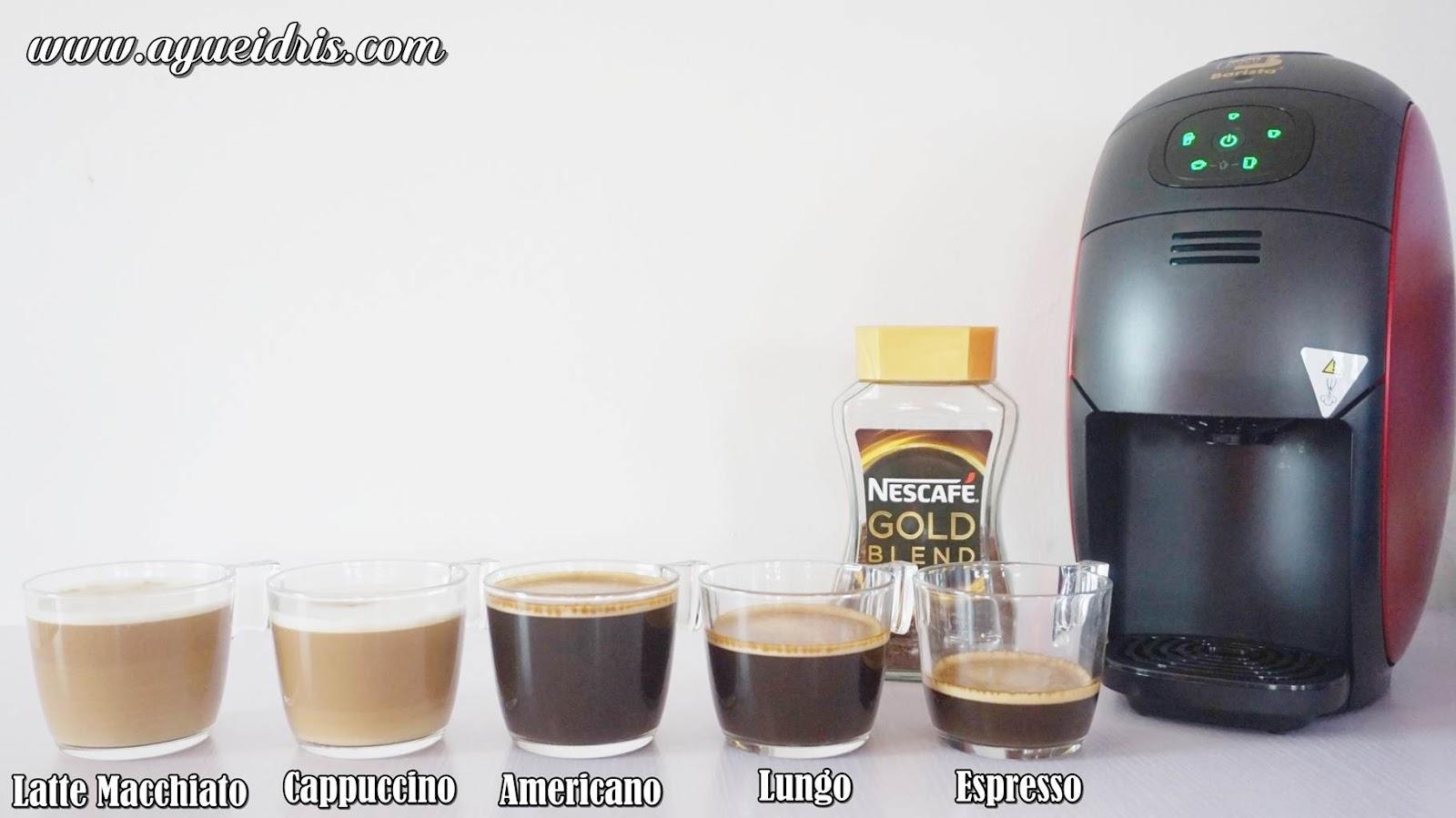 Nescafe Gold Barista Coffee Machine cara guna harga (36).JPG
