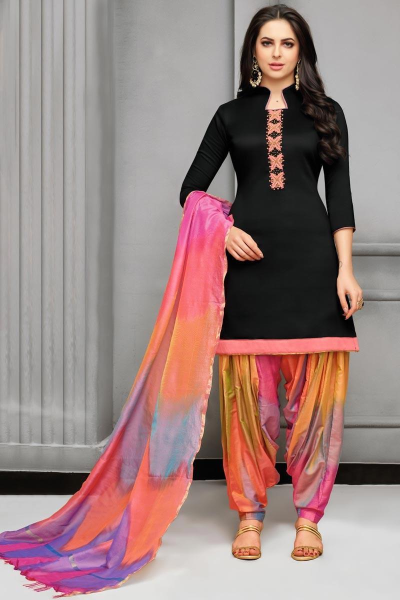 How to wear salwar kameez to work 3