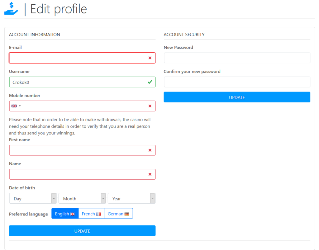 sourcecash.net schritt für schritt anleitung - profil