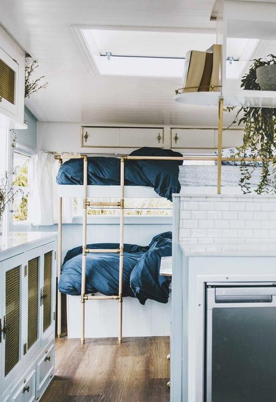Bunk Bed Ideas for Campers