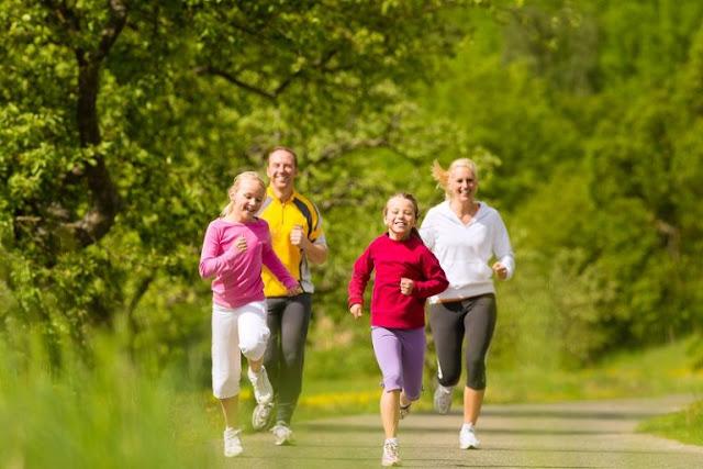 Tập thể dục thường xuyên để tránh béo phì