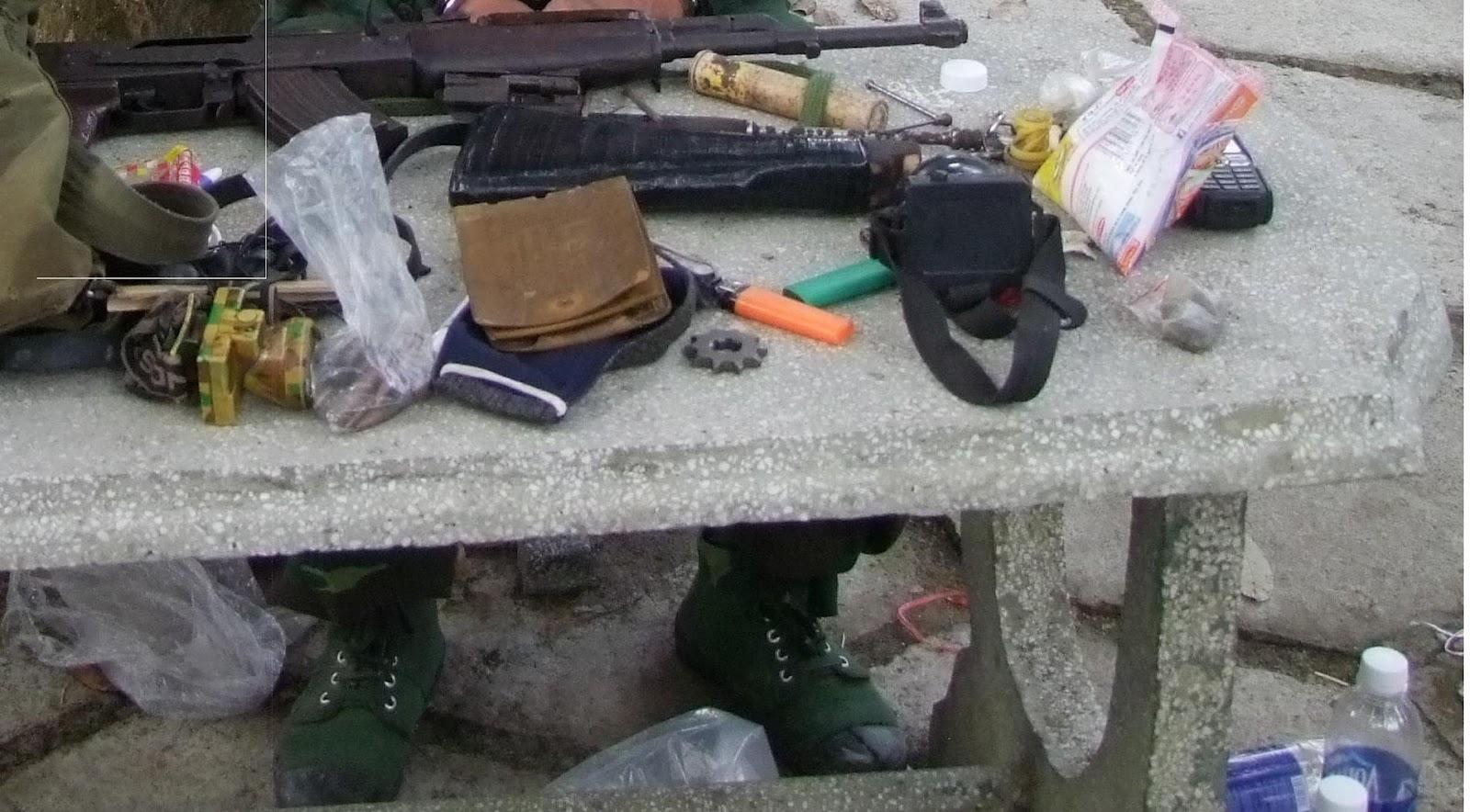Truy bắt đối tượng tàng trữ, sử dụng trái phép vũ khí quân dụng