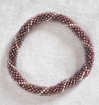 Roll Over Glass Bead Bracelets