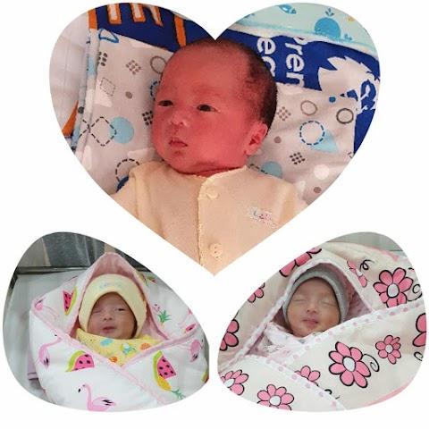 Berita Bahagia dari Tahuna Sangir talaud, Berhasil Hamil dan Melahirkan Bayi Kembar 3 Hasil Bayi Tabung bersama dr. Indra NC Anwar, SP.OG di Morula IVF Jakarta (Setelah menanti selama 8 tahun pernikahan) by. Hellen Angraini Gandaria