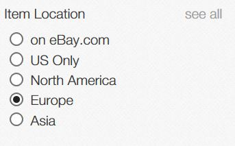 ebay item location