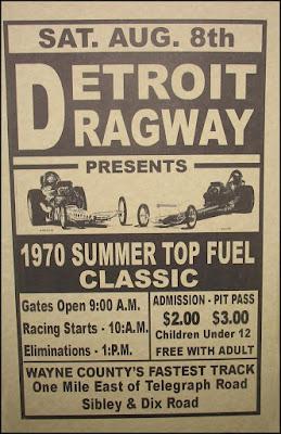 Detroit Dragway History