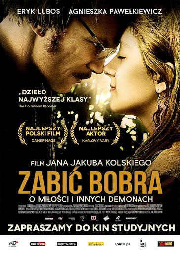 Przód ulotki filmu 'Zabić Bobra'