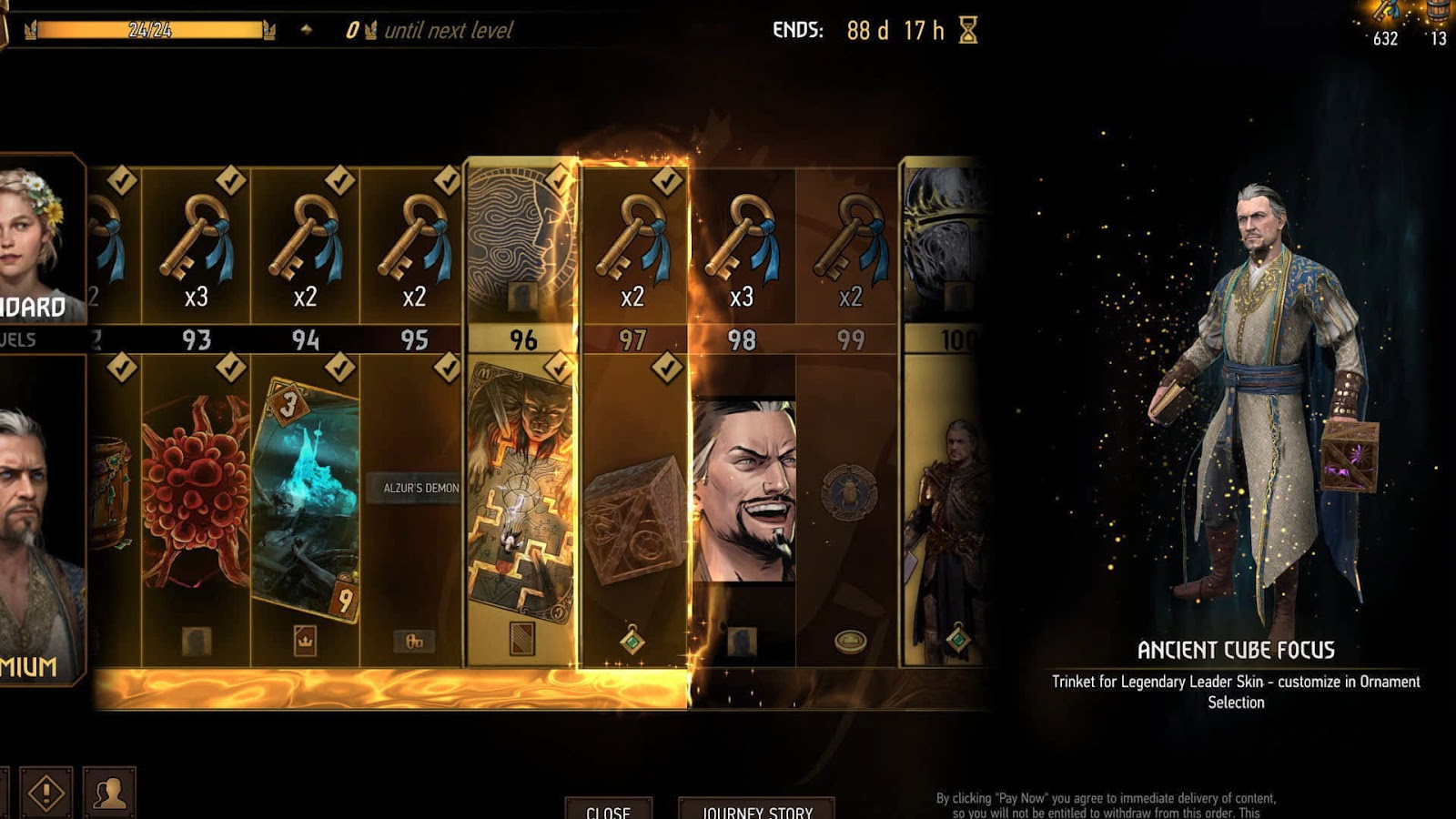 [Review] Gwent : The Witcher Card Game เกมการ์ดจากซีรีส์ The Witcher 17
