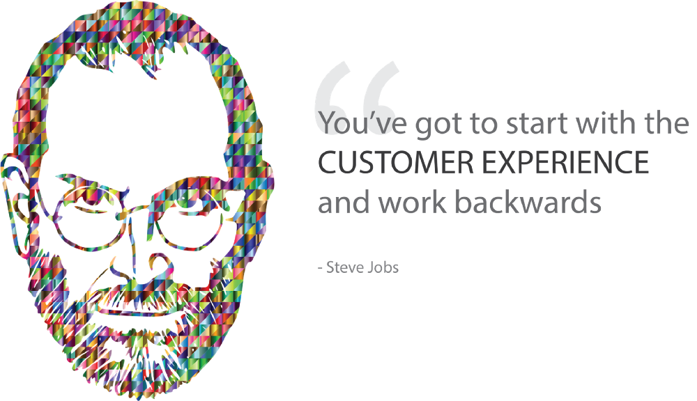 famous quote of steve jobs about customer centric value propositions