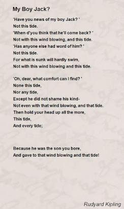 The Poem My Boy Jack