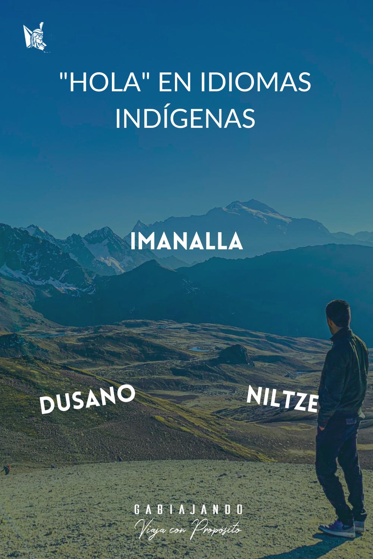 Como se dice hola en diferentes idiomas indígenas