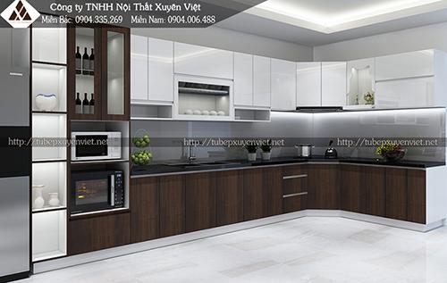 Tủ bếp Laminate và những điều bạn cần quan tâm hình 2