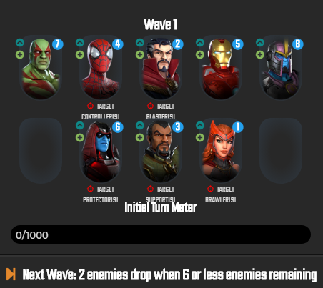 Marvel Strike Force: Fear The Darkness Guide & Kill Order 1