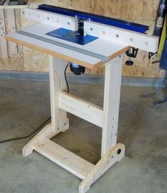 Портативный фрезерный стол