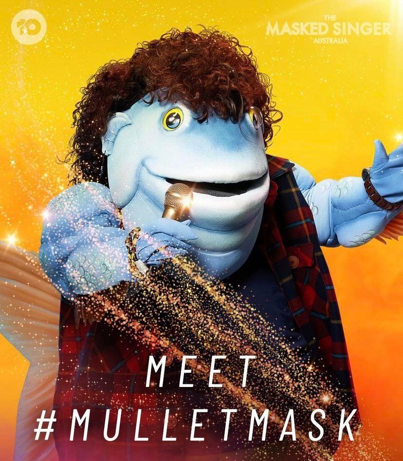 Mullet time!!: TheMaskedSinger