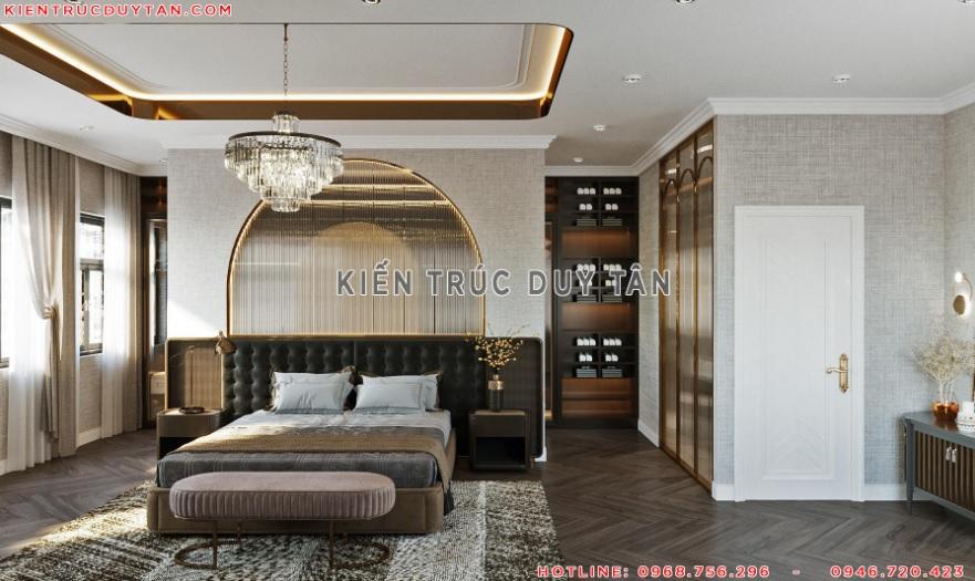 Nội thất phòng ngủ theo phong cách tân cổ điển – view 4