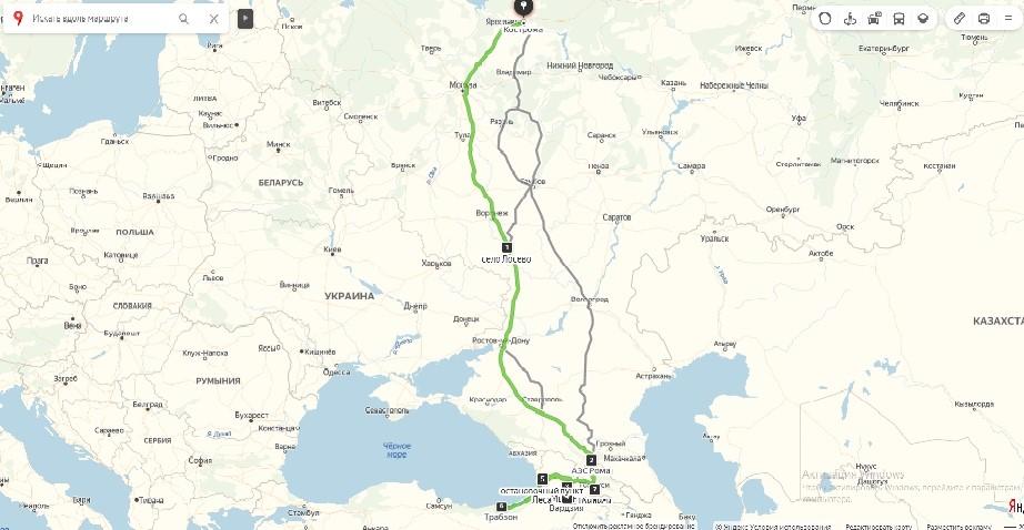 Отчет об автомобильном походе 2 категории сложности и о водном походе 3 категории сложности группы туристов Г. Костромы совершенном с 19.10 по 31.10.2019 г. по территории Грузии и Турции