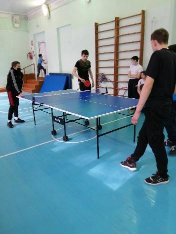 Соревнования по настольному теннису среди учащихся 6-9 классов