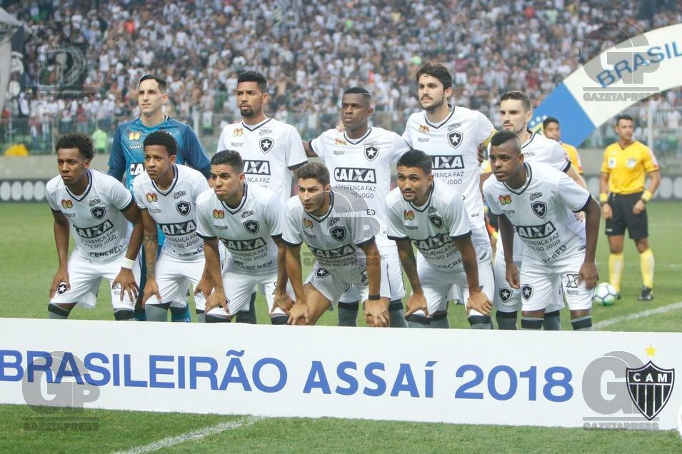 CAMPEONATO BRASILEIRO 2018: ATLÉTICO-MG X BOTAFOGO-RJ