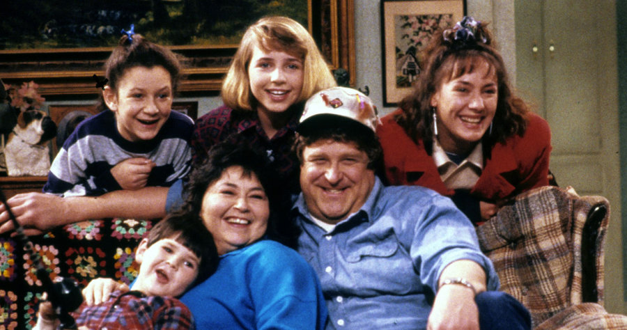 Image result for roseanne cast