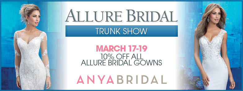 allure bridal trunk show