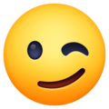 Winking Face on Facebook 13.1