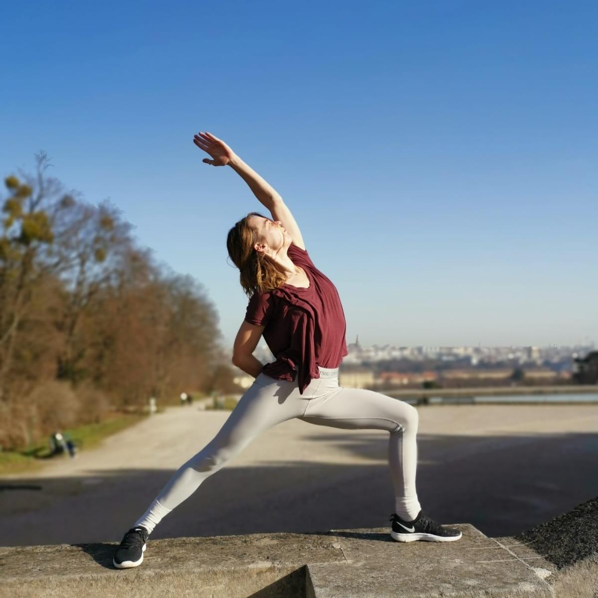 Yoga als Wegweiser zum richtigen Maß © Lea Metz