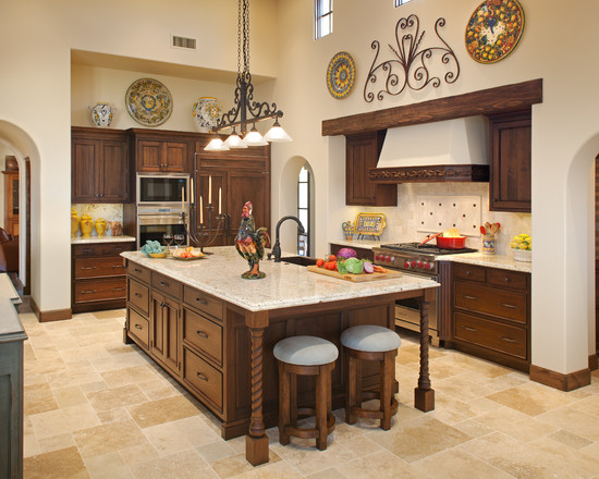 Dosis arquitectura dise os de la cocina r stica perfectas - Diseno casa rustica ...
