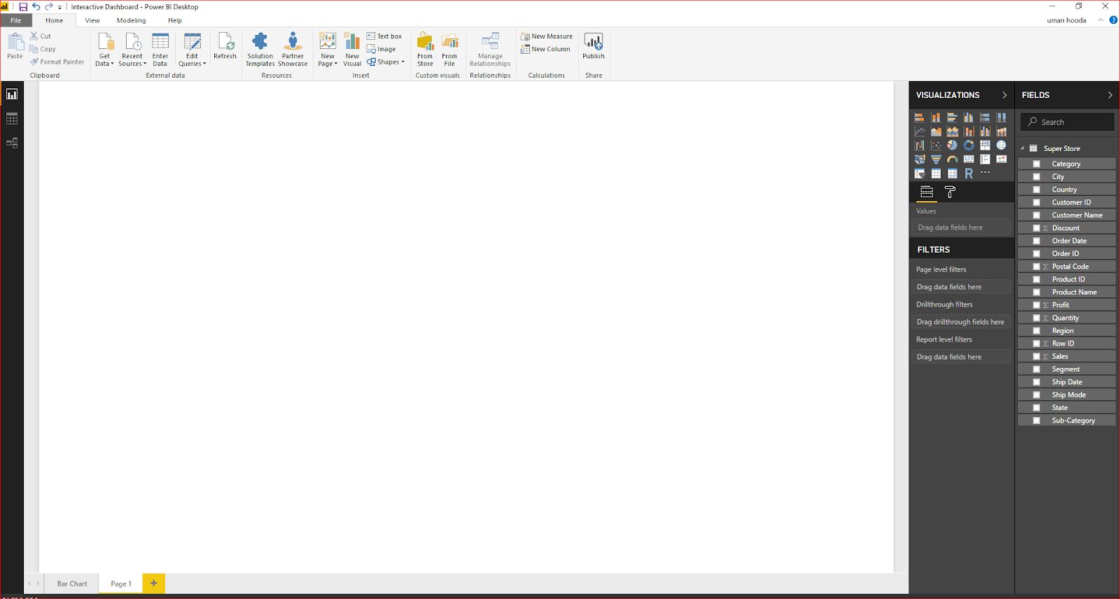 Interactive Dashboard In Microsoft Power BI 32