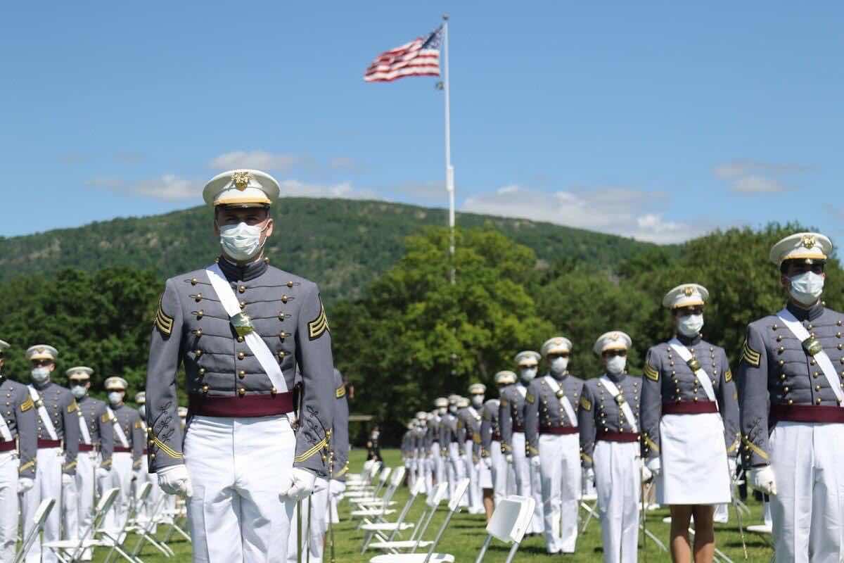 Sinh viên sỹ quan trường Võ Bị Quốc Gia West Point. Những dũng tướng tương lai của Hoa Kỳ.