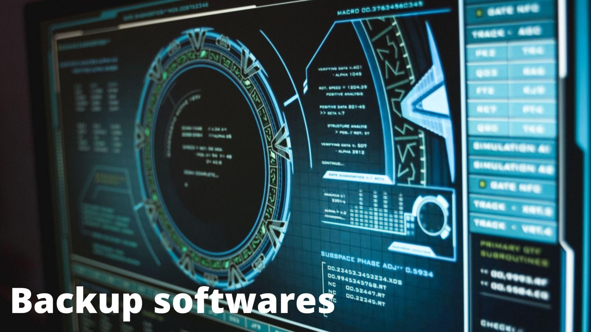 Softwares - backup software