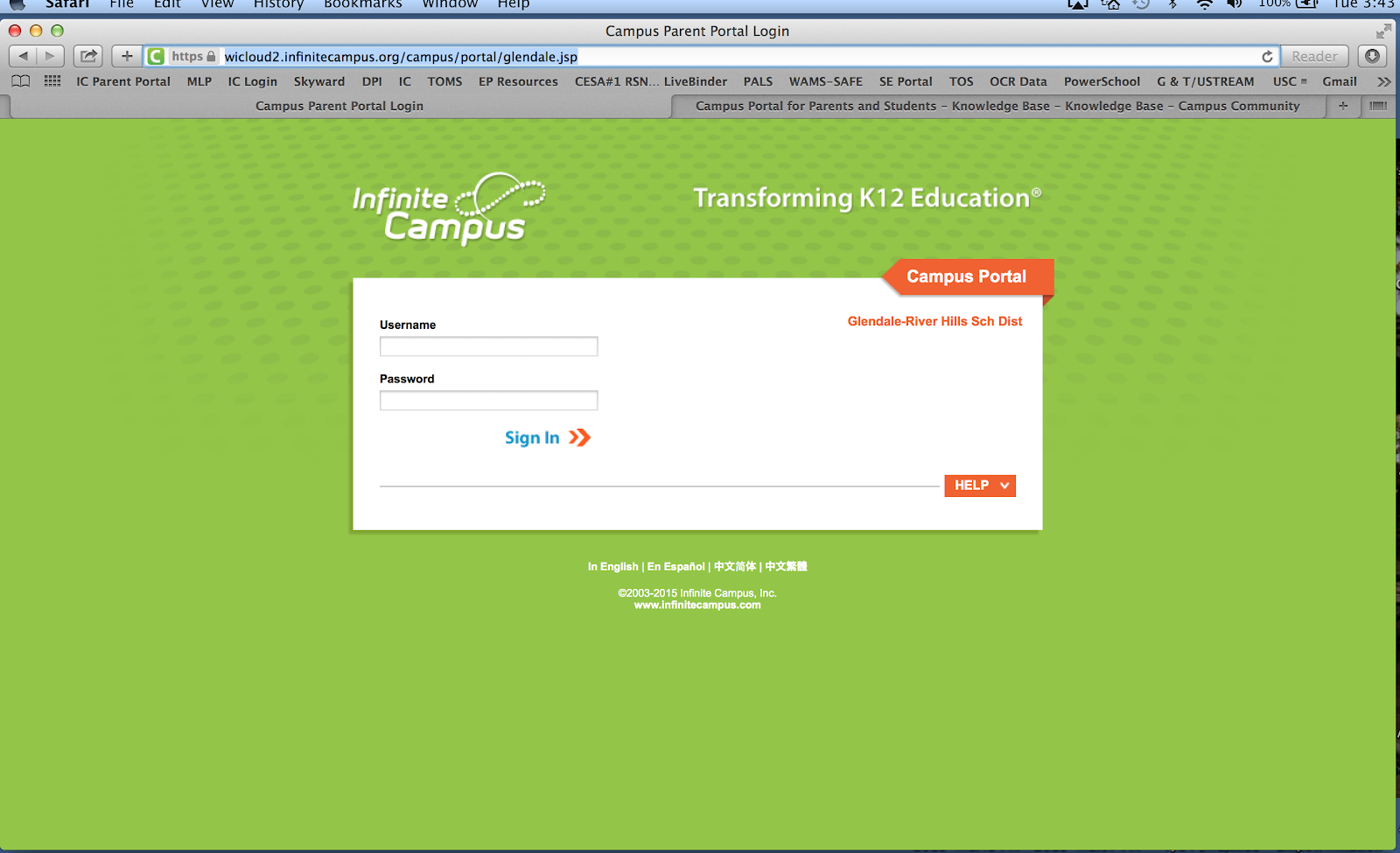 Infinite Campus FAQs - Glendale-River Hills School District