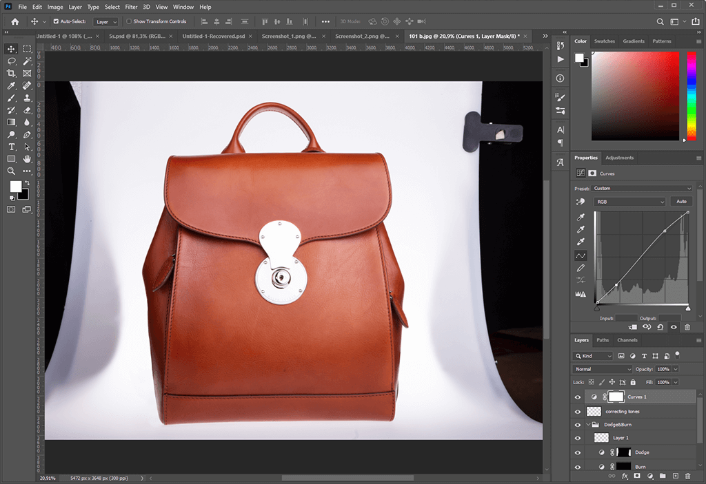 product photo editing in Magento 2