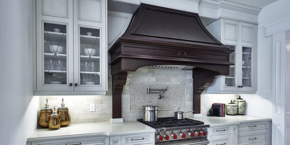 Traditional Wooden Range Hood