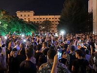 Акция поддержки в Хабаровске 12 июля 2020 года