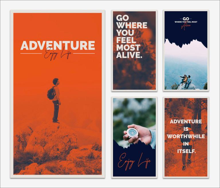 Adventure Instagram Stories Template