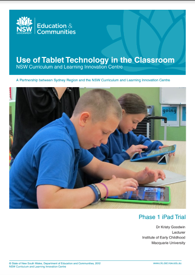 Use of Tablet Technology in the Classroom