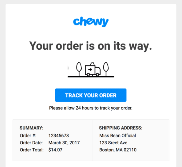 Chewy email