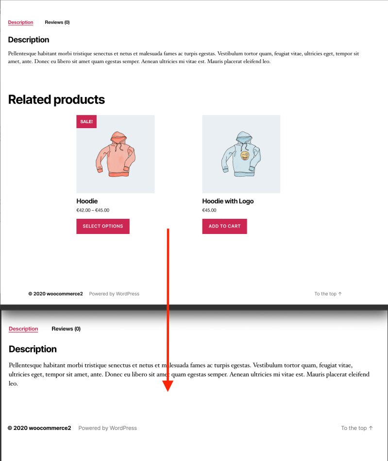 remove related products woocommerce