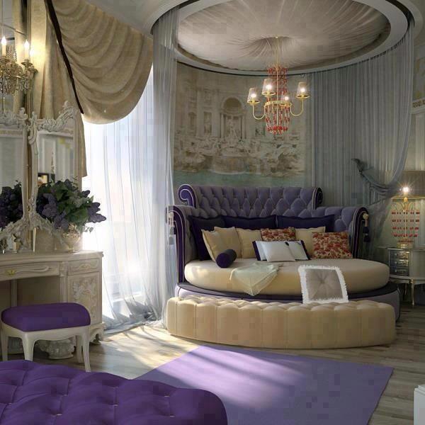 Dark Royal Hue for Bedroom