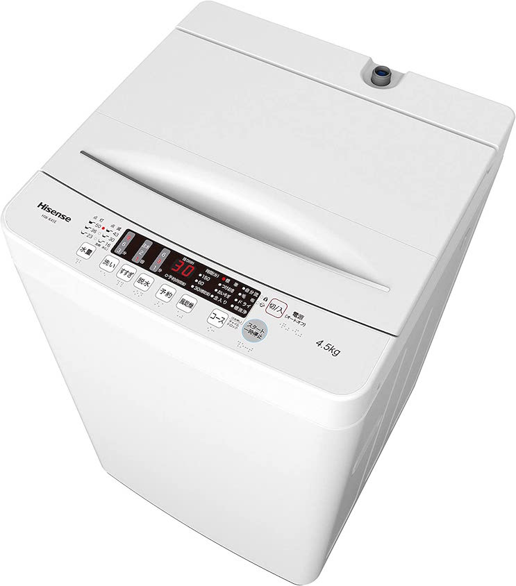 ハイセンス 全自動洗濯機