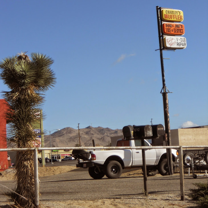 Pickup truck and auto repair in Joshua Tree, California