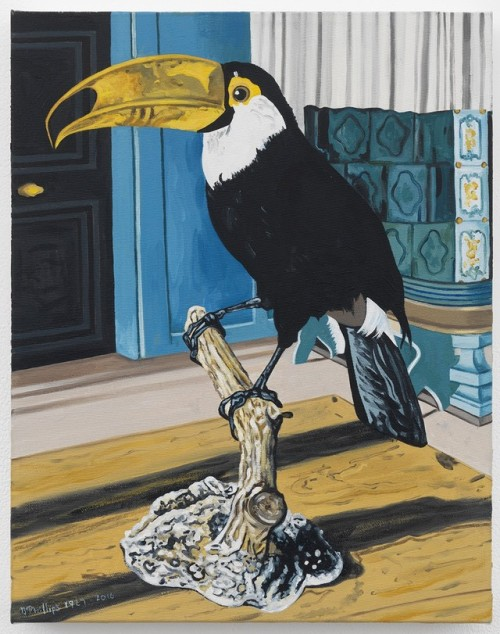Adolph Dietrich's Pepper Bird, 1927, Painted with my Left Hand, 2016