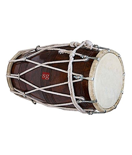 Best Dholaks In India (SG Musical Rope/Bolt Tuned Dholak) Best Dholaks In India