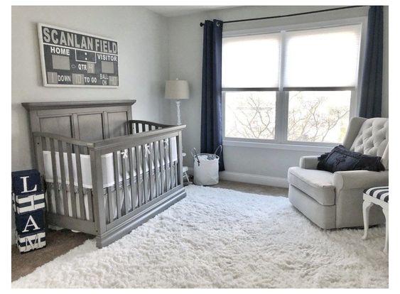 Baby Boy Bedroom Ideas In Grey