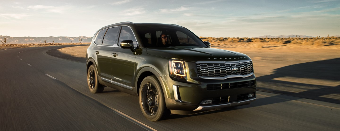 The 2020 Kia Telluride Earns Edmunds Top Rated Suv Award Steve Landers Kia
