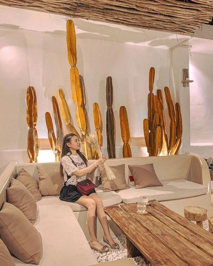 Sơn hiệu ứng Waldo-Không gian quán Pora theo phong cách Santorini