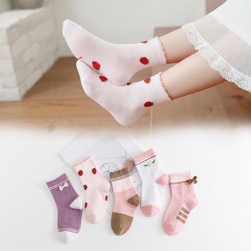 Combed Cotton Children Socks for Winter Fashion